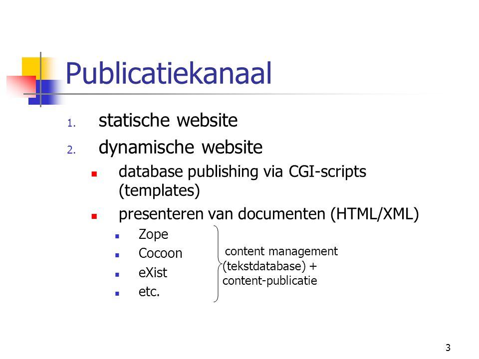 4 Toegang via: website subject gateway portal digital library virtuele tentoonstellingen digitale edities van documenten Carlson behandelt alleen dit onderdeel: requirements modeling XML geautomatiseerd creëren