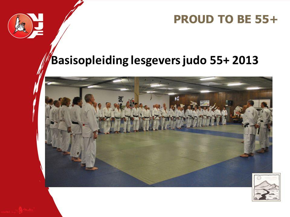 Basisopleiding lesgevers judo 55+ 2013