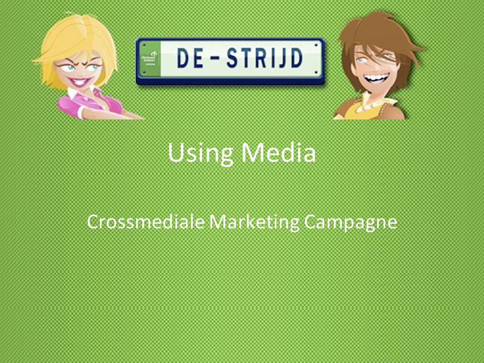 Using Media Crossmediale Marketing Campagne