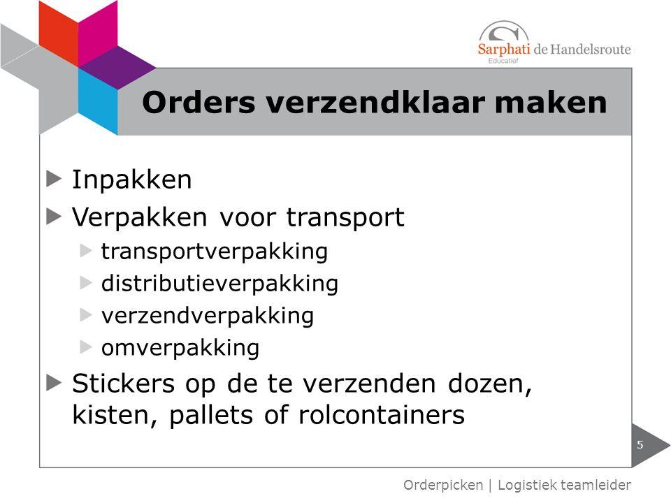 Inpakken Verpakken voor transport transportverpakking distributieverpakking verzendverpakking omverpakking Stickers op de te verzenden dozen, kisten,