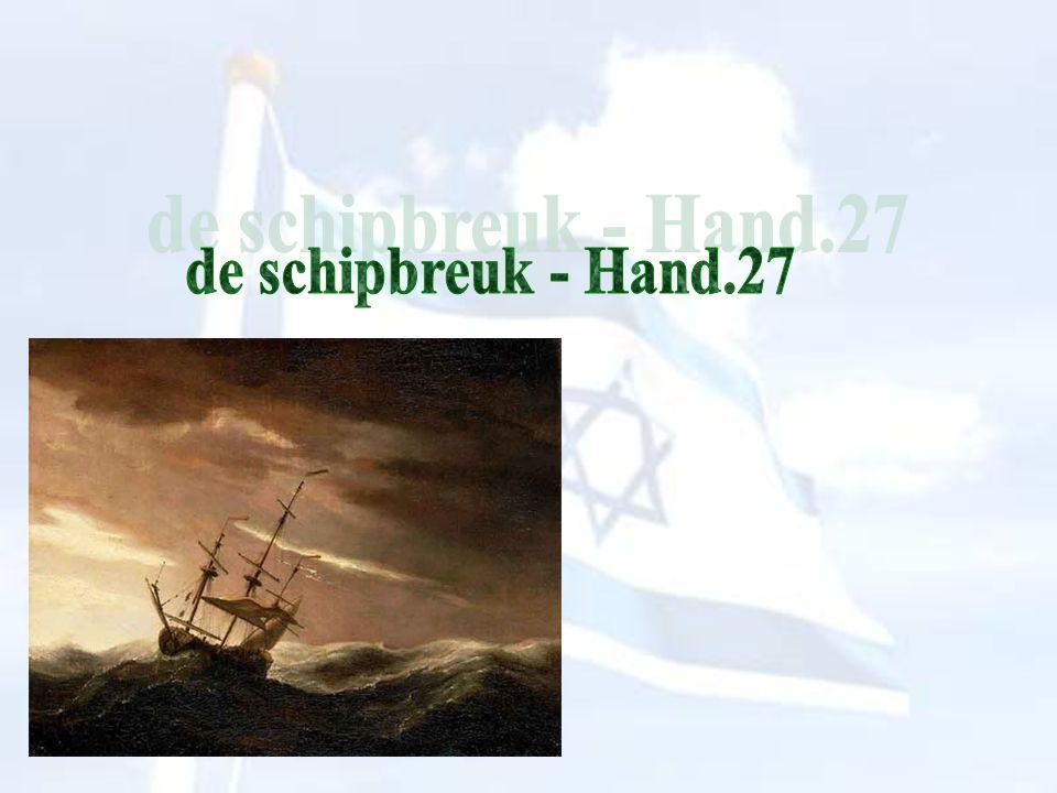 graanschip schip uit Alexandrië => Israël, vanuit Egypte geroepen, kreeg de woorden Gods toevertrouwd