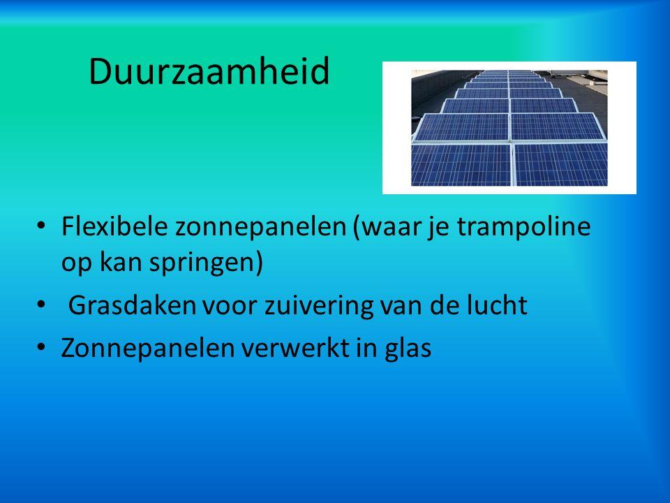 Communicatie Buizenpost met mensen Alle elektronica aangesloten op zonnepanelen Onzichtbare windmolen Hoger bouwen i.p.v.
