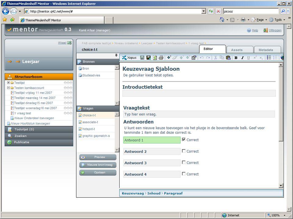 Tree-based processing Zie voorbeeld helloworld.xml  SimpleXML: $xdoc->mijneerstexml->groet  E4X: xdoc.mijneerstexml.groet  DOM+Xpath $xdoc.selectSingleNode( mijneerstexml/groet ) Hogeschool van Amsterdam - Interactieve Media – Internet Development – Jochem Meuwese - j.meuwese@interactievemedia.hva.nl - http://oege.ie.hva.nl/~meuwj/ - http://hva.jochem.nl