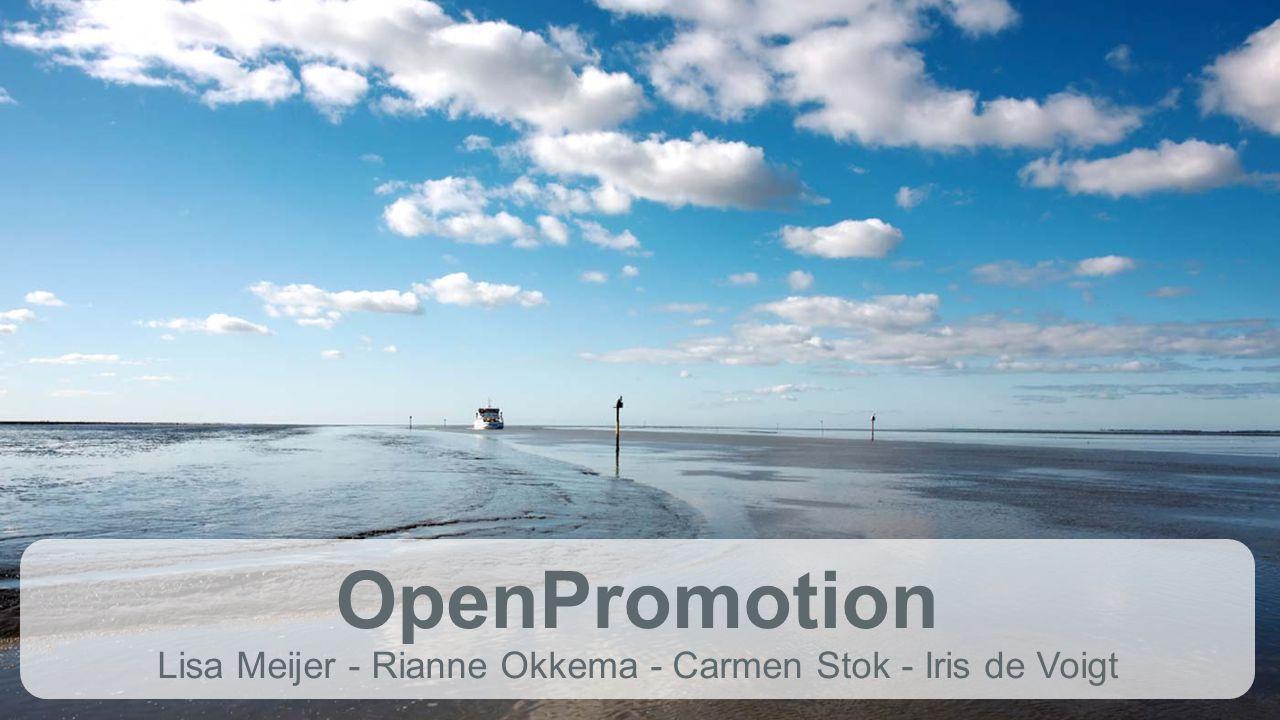 OpenPromotion Lisa Meijer - Rianne Okkema - Carmen Stok - Iris de Voigt