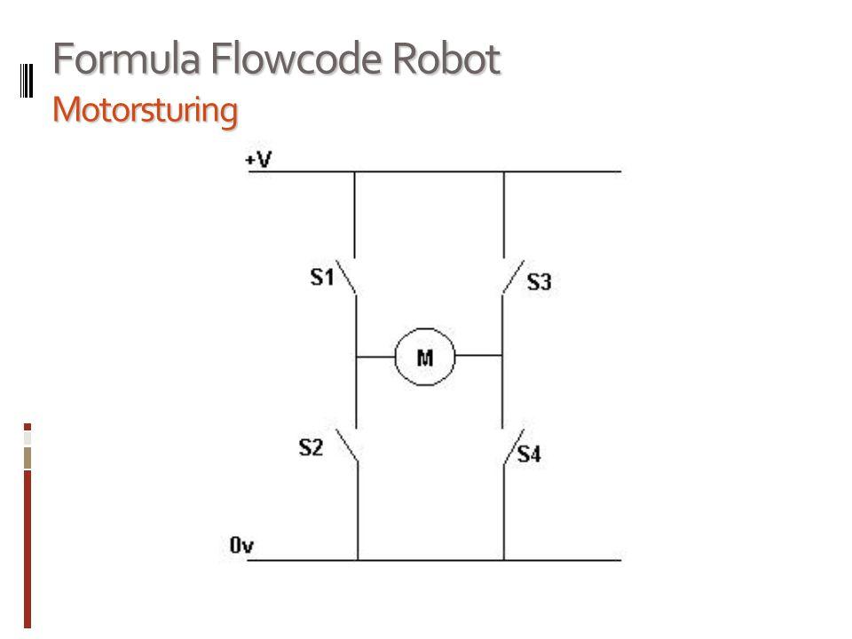 Formula Flowcode Robot Motorsturing
