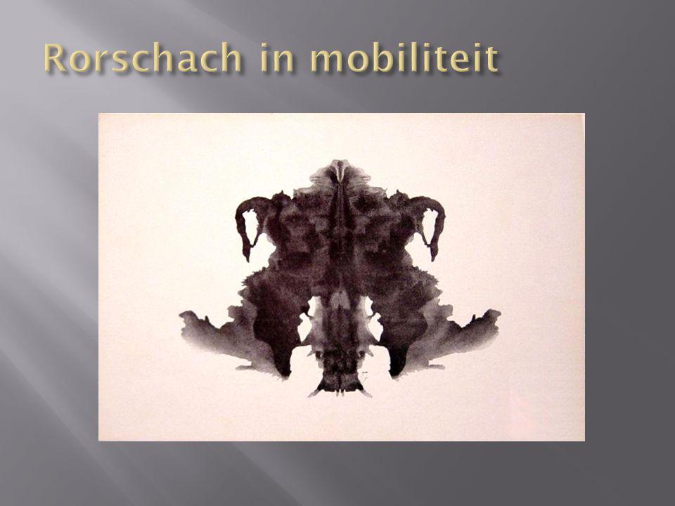  Hermann Rorschach was psychiater en leefde van 1884 tot 1922.