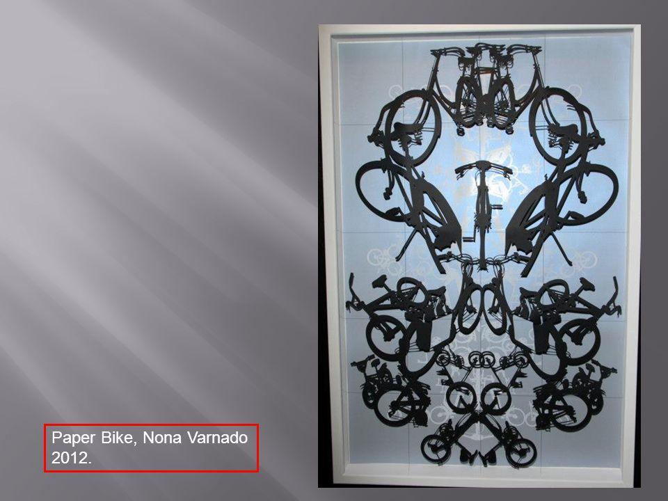 Paper Bike, Nona Varnado 2012.
