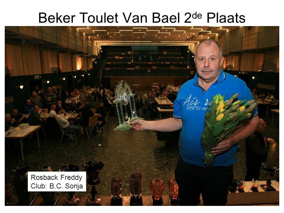 Beker Toulet Van Bael 2 de Plaats Rosback Freddy Club: B.C. Sonja
