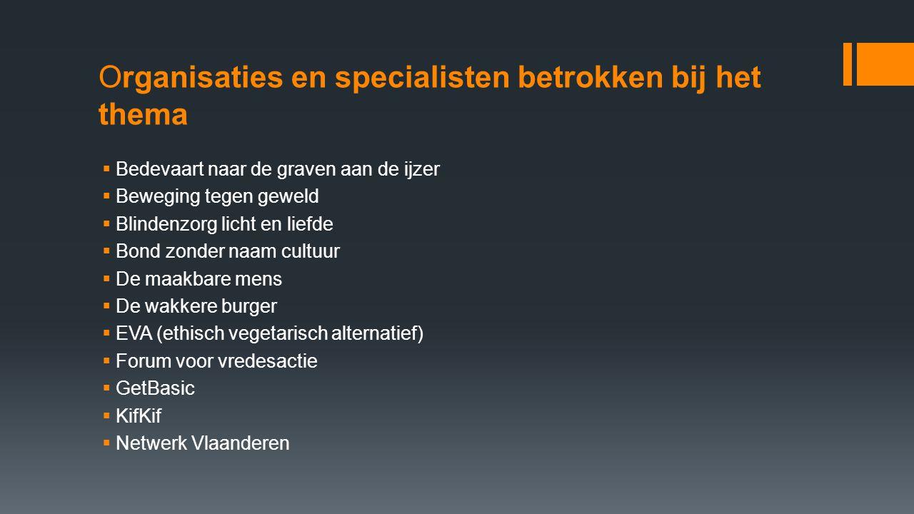 synthese  Inleiding - 31 door Vlaamse overheid gesubsidieerde Bewegingen - Diversiteit in werkwijze en doelen - De thema's van de bewegingen komen aan bod - Ook hun campagnes van 2008 zullen besproken worden - Synthesetekst bewegingen en democratie