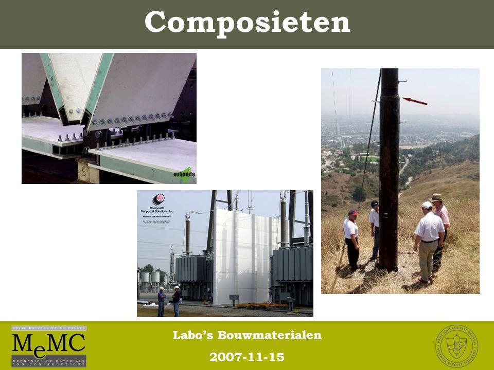 Labo's Bouwmaterialen 2007-11-15 Composieten