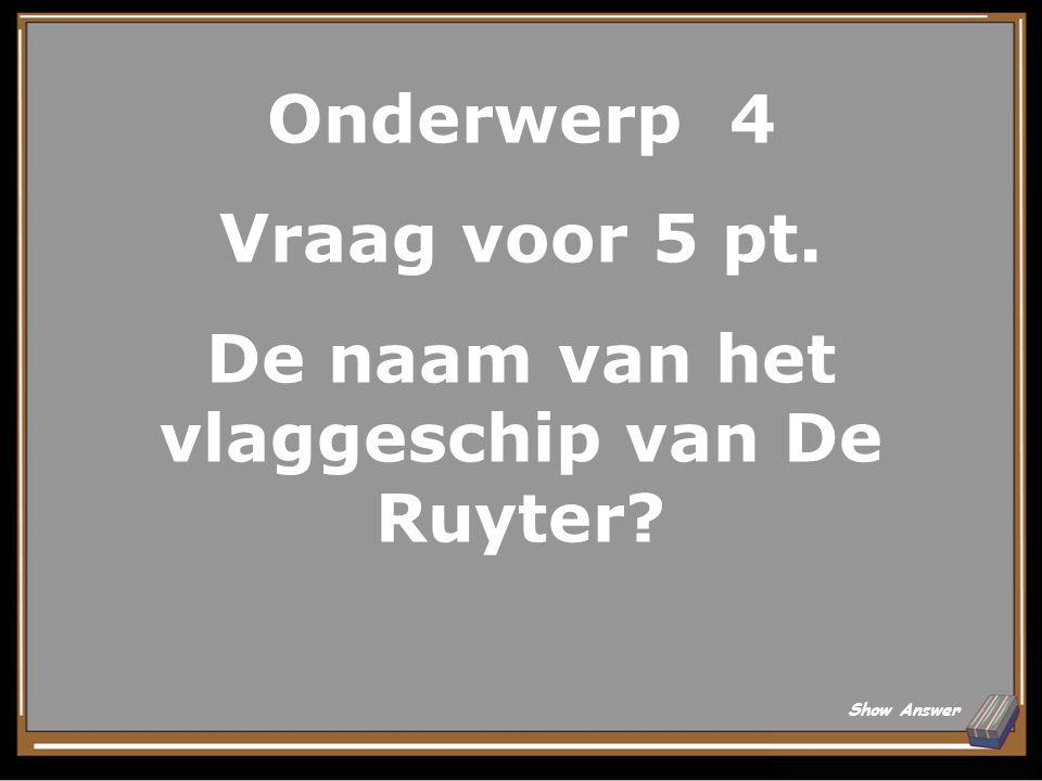 Onderwerp 3 Antwoord voor 25 pt. Een museum (Rembrandthuis) Back to Board