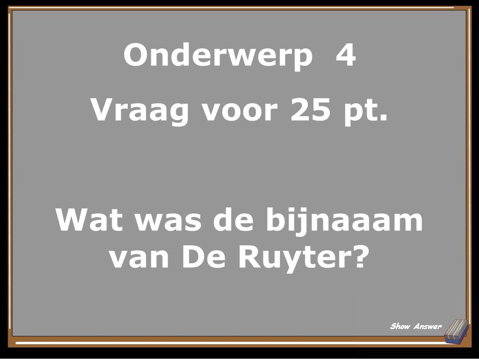 Onderwerp 4 Antwoord voor 20 pt. De Nieuwe Kerk in Amsterdam? Back to Board