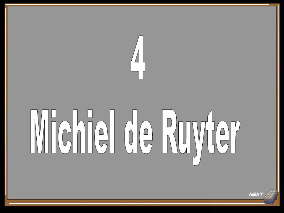 Onderwerp 5 Antwoord voor 20 pt. Michiel de Ruyter Back to Board