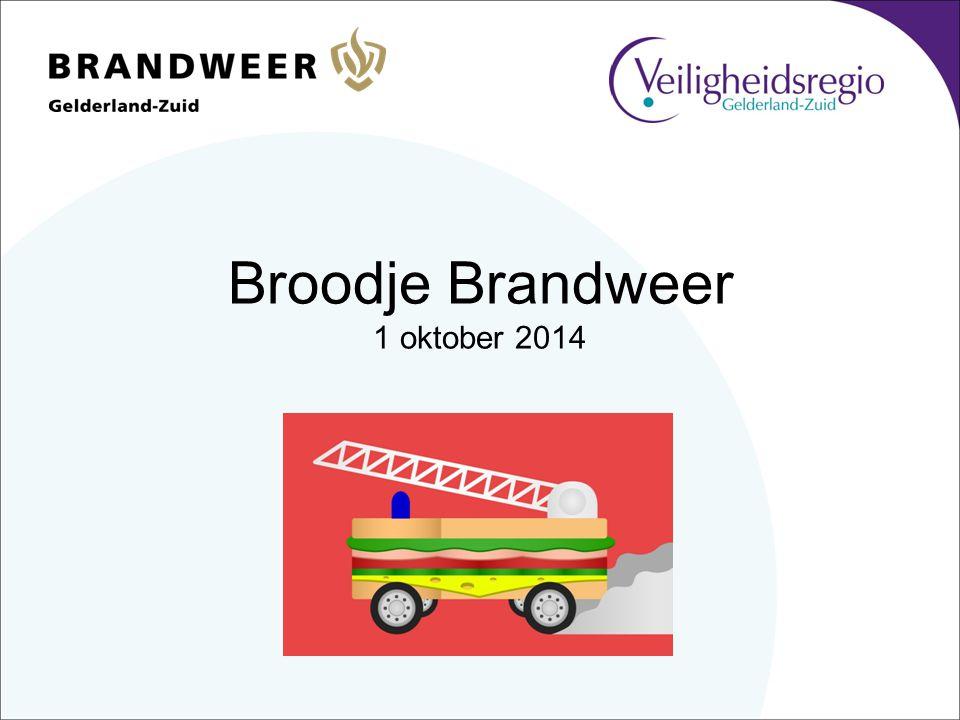 Broodje Brandweer 1 oktober 2014