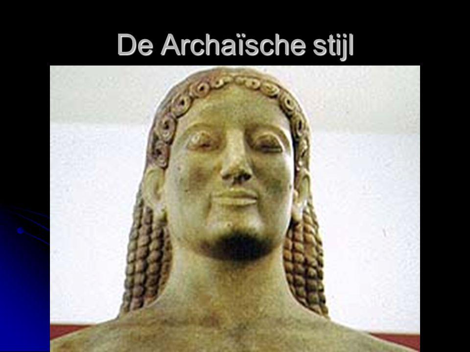De Archaïsche stijl