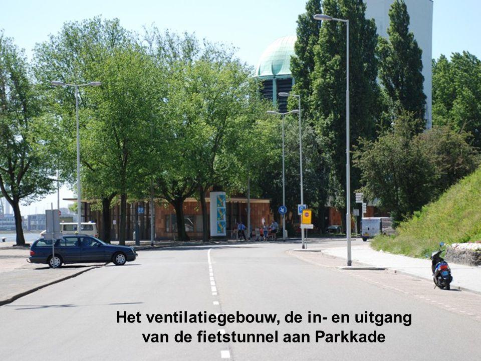Fietstunnel onder Nieuwe Maas