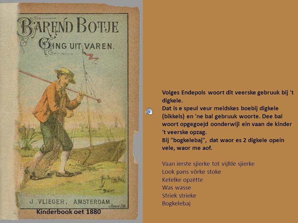 Hans en Grietje Zege, zege menneke boter in t penneke boter in t kuupke En....... liet e puupke