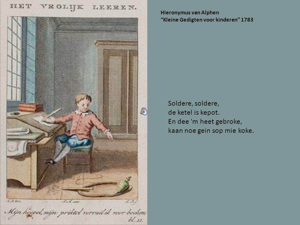 Oetgegeve in 1867 Veur hiel kleinekes. Dao waor ins e menneke dat kroop in t penneke.