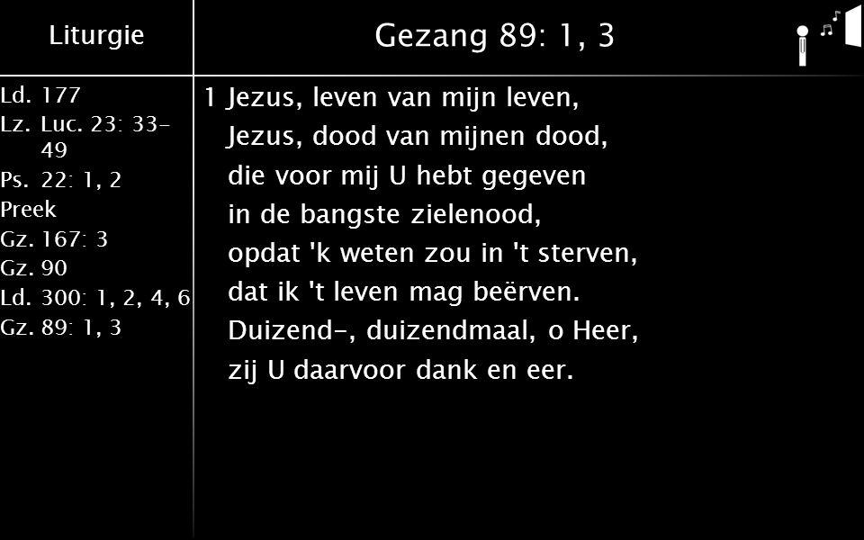 Liturgie Ld.177 Lz.Luc.