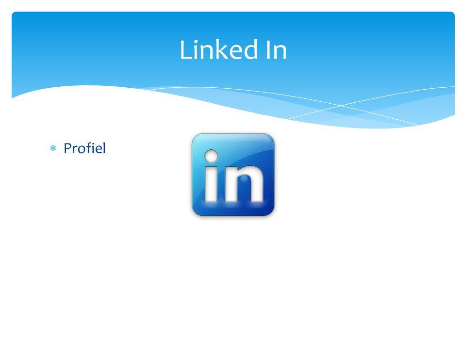  Profiel Linked In