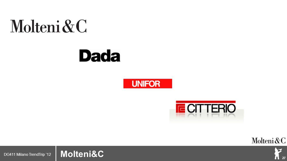 DG411 Milano TrendTrip '12 Klik om het opmaakprofiel te bewerken 27 Brand logo (name) Molteni&C