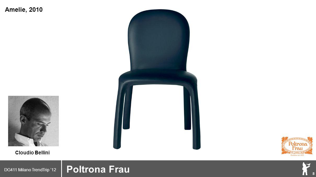 DG411 Milano TrendTrip '12 Klik om het opmaakprofiel te bewerken 9 Brand logo (name) Poltrona Frau Paola Navone Ghostfield, 2011