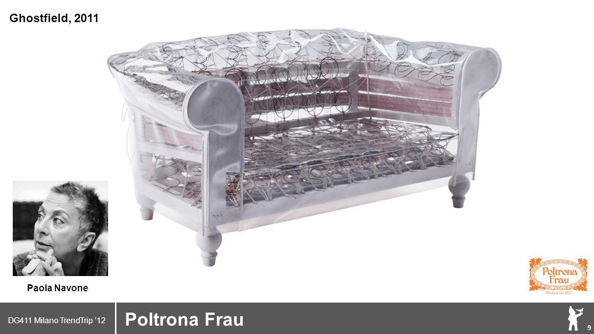 DG411 Milano TrendTrip '12 Klik om het opmaakprofiel te bewerken 10 Poltrona Frau Many other designers…