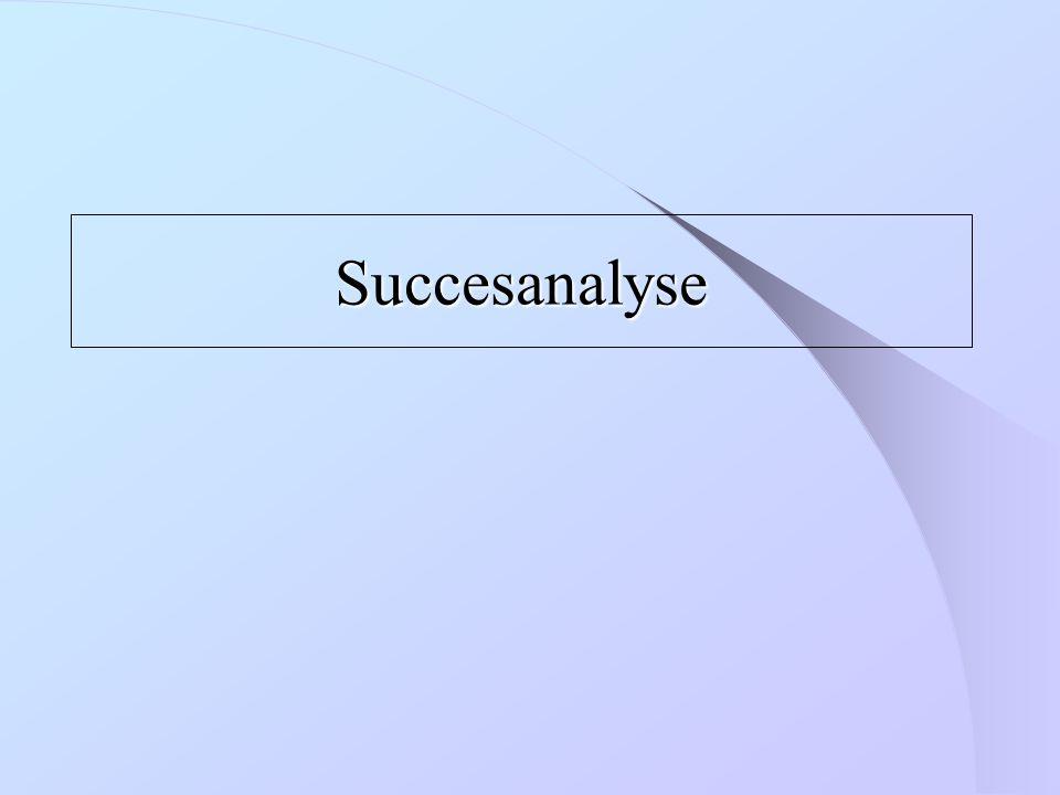 Succesanalyse