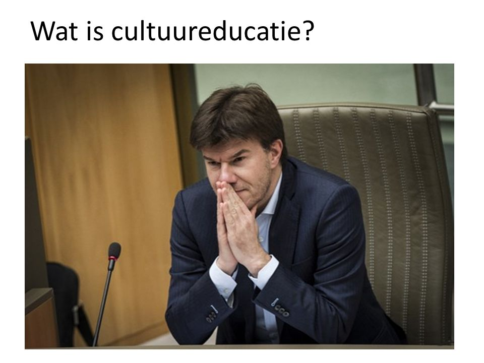 Wat is cultuureducatie?