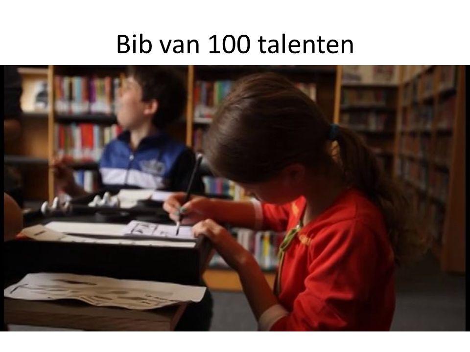 Bib van 100 talenten