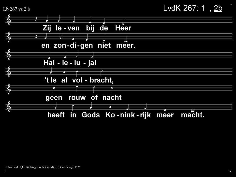 ... LvdK 267: 1a, 2b