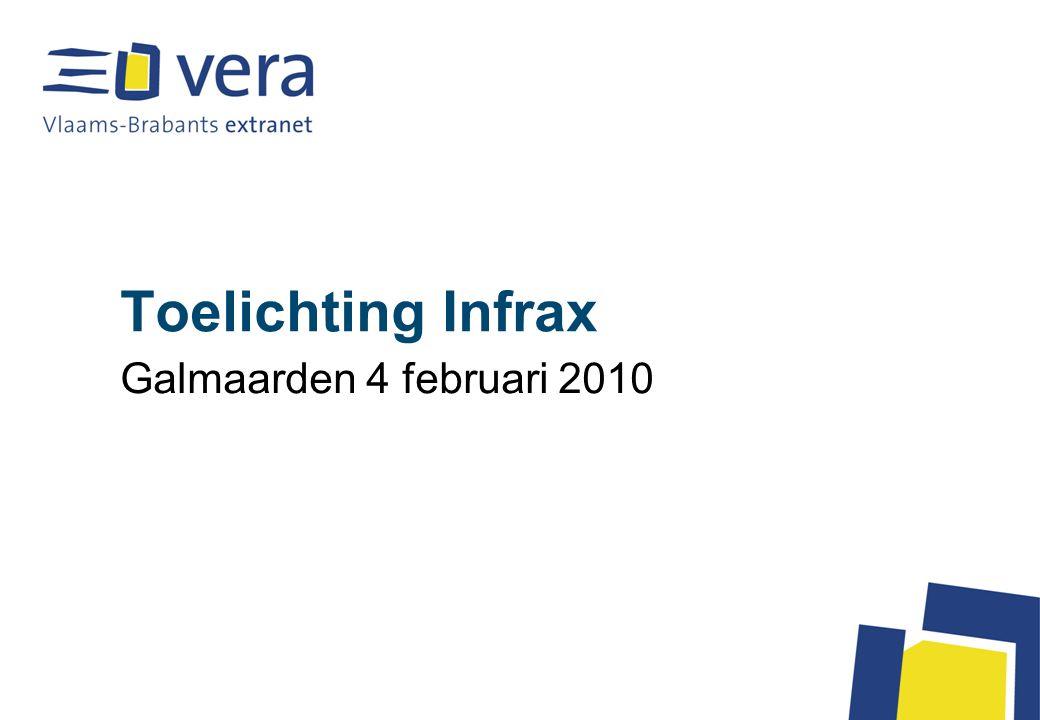 Toelichting Infrax Galmaarden 4 februari 2010