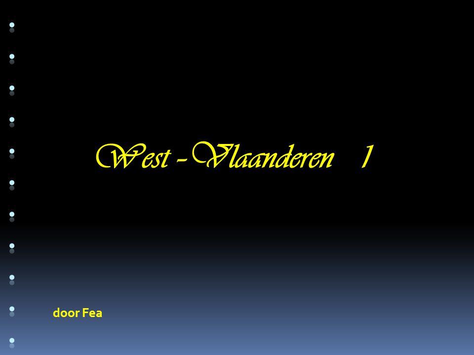 door Fea West –Vlaanderen 1