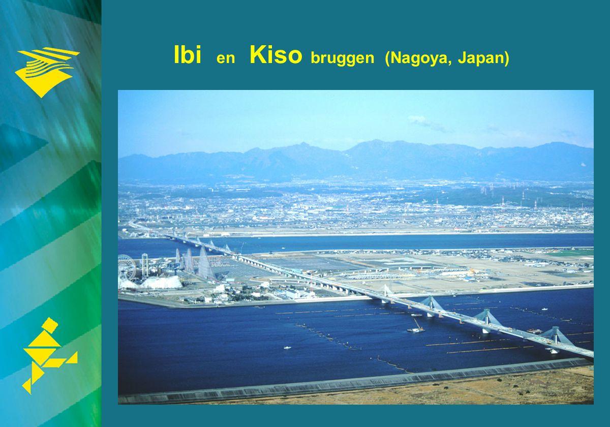 16 Ibi en Kiso bruggen (Nagoya, Japan)