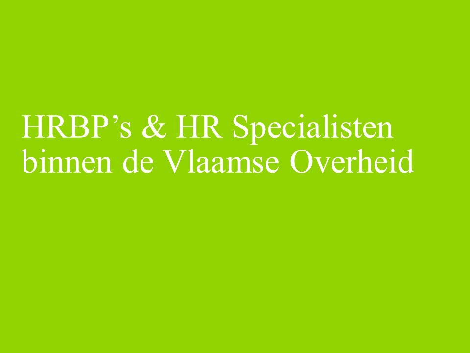HRBP's & HR Specialisten binnen de Vlaamse Overheid