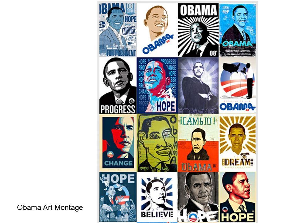 Obama Art Montage