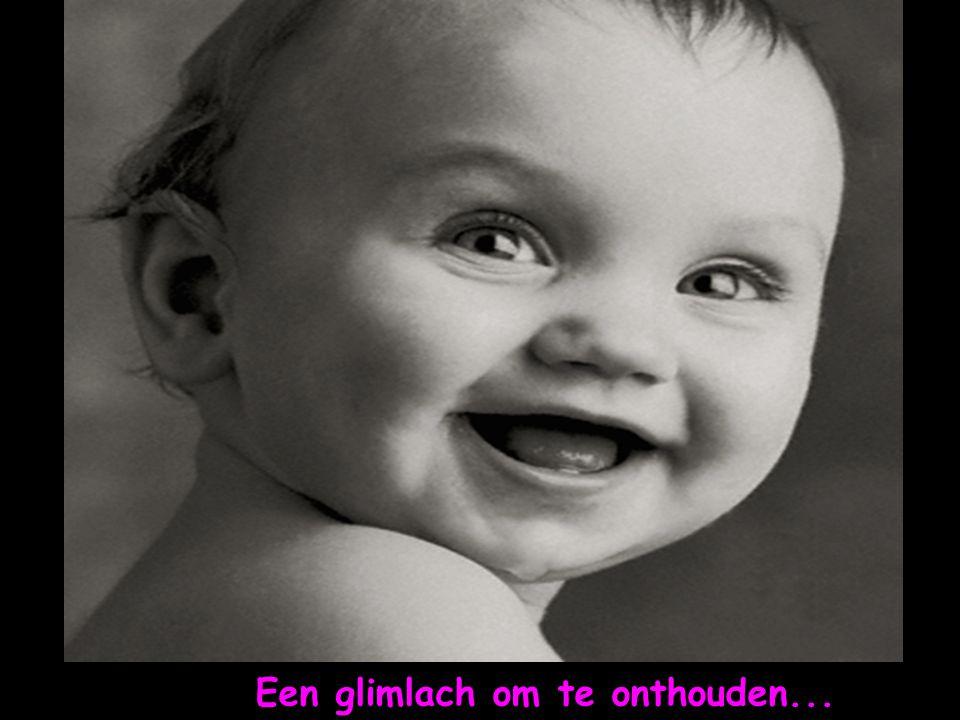Een glimlach van victorie...