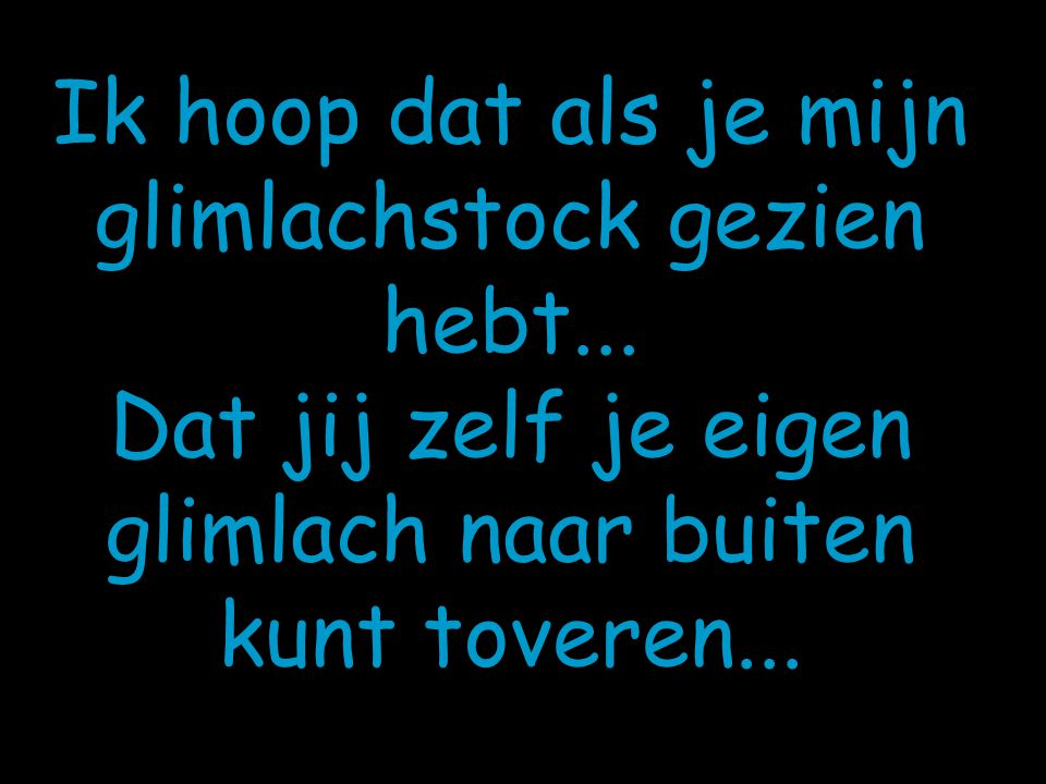 De stock is op...