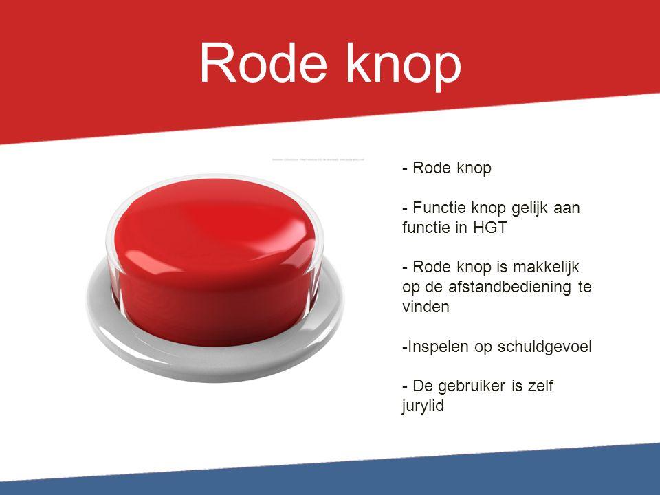 Research  Inspelen op behoefte beroemd te worden  Hoge kijkcijfers Holland's Got Talent  Voordelen interactieve televisie  Rode knop functionaliteit