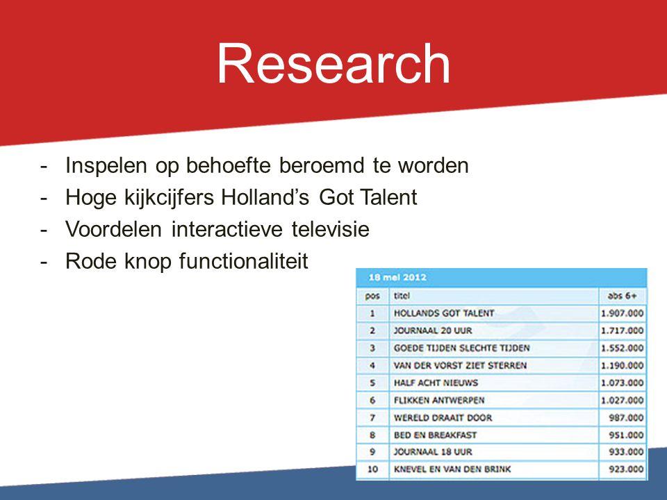 Sterke punten  HGT trekt groot publiek  Hans Teeuwen  Originele benadering van probleem  Interactief concept