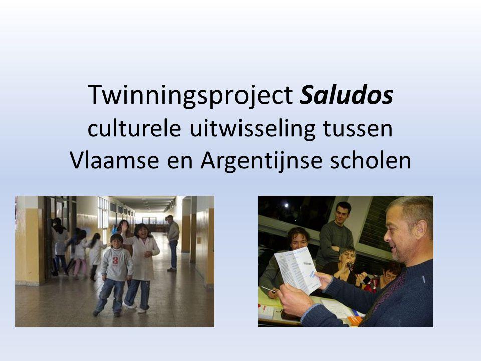 Twinningsproject Saludos culturele uitwisseling tussen Vlaamse en Argentijnse scholen