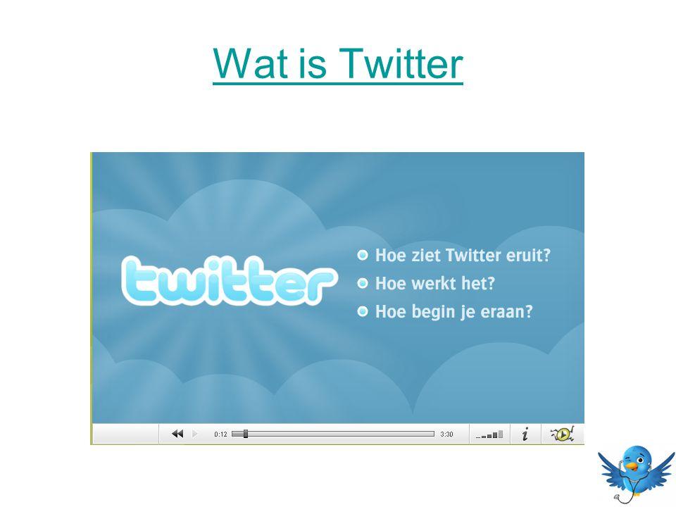 Wat is Twitter
