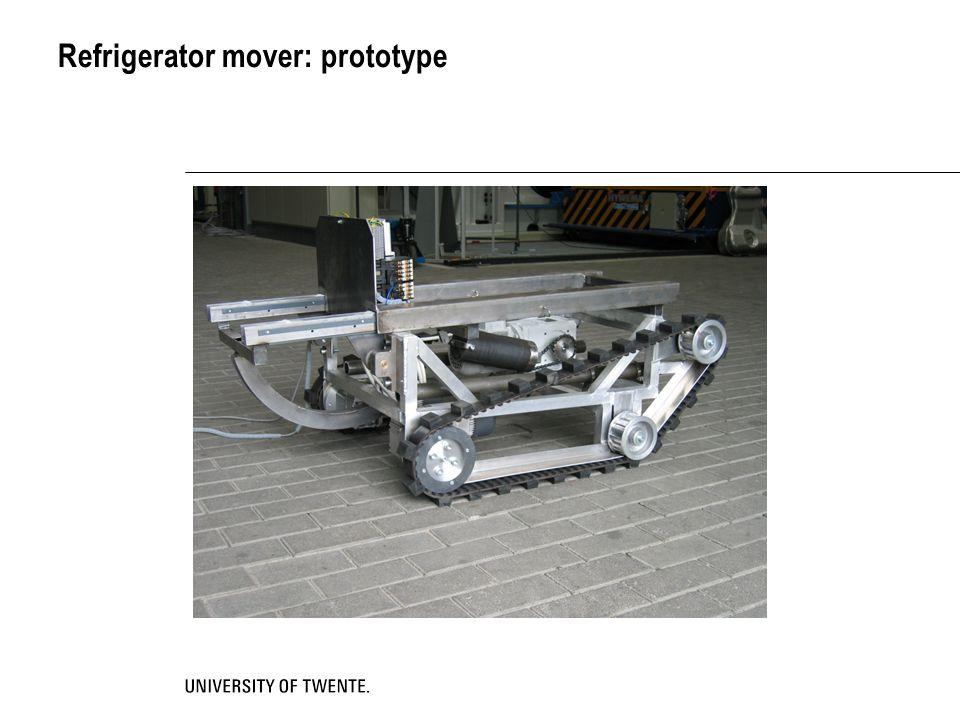 Refrigerator mover: prototype
