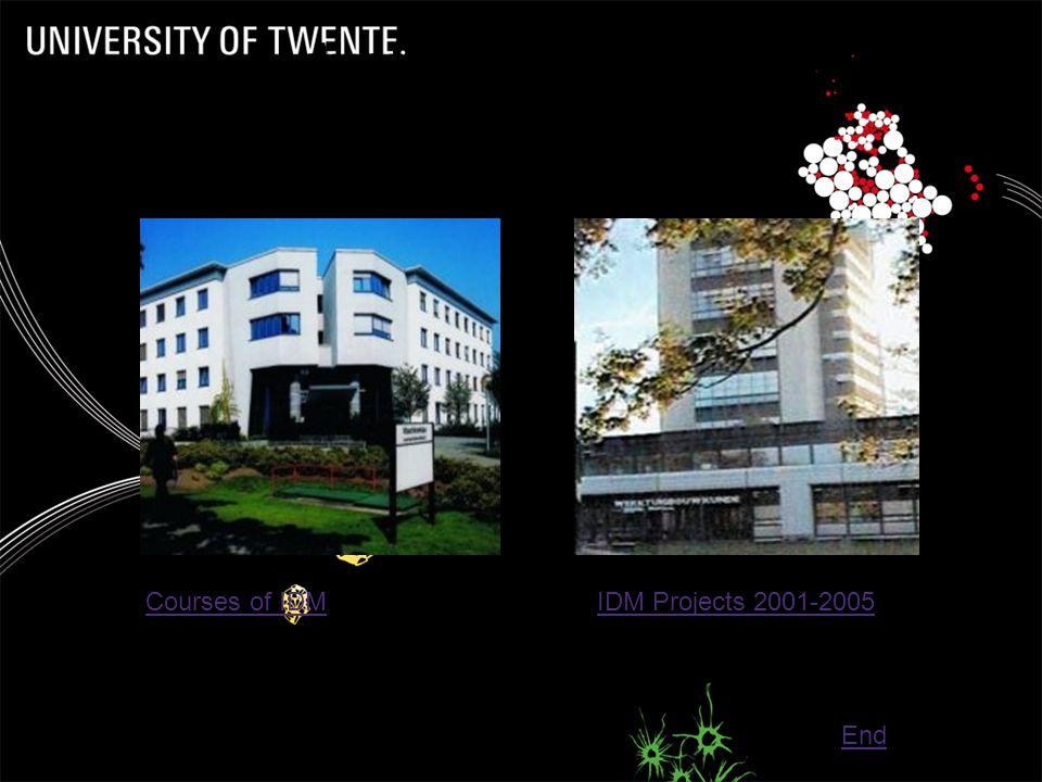 IDM Algemeen (2)  Per september 2006 IDM uitgebreiding met  Universiteit van Stratchclyde (Glasgow, Schotland, >20.000 studenten)  Universiteit van Aalborg (Denemarken, +- 14.000 studenten)