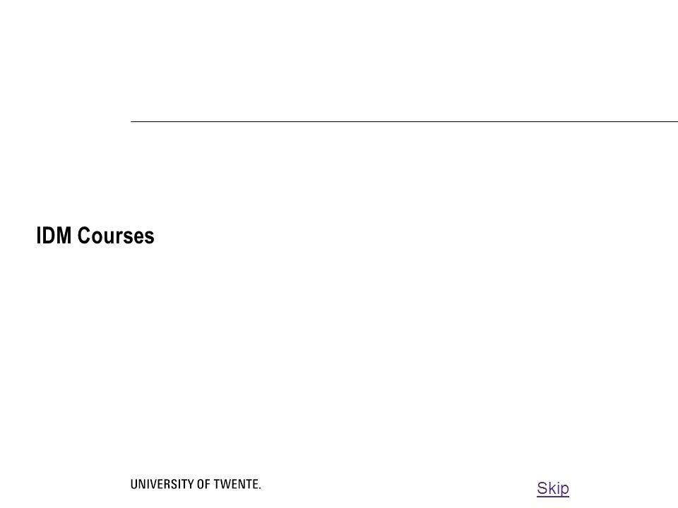 IDM Courses Skip