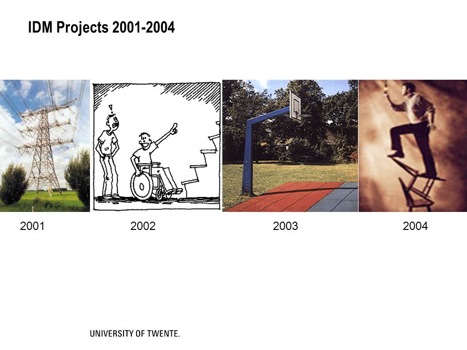 IDM Projects 2001-2004 2001 2002 2003 2004
