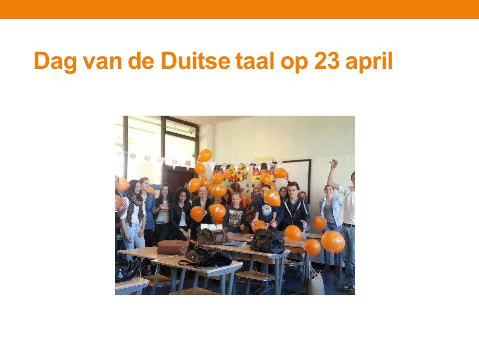 Doelstellingen Actiegroep Duits De Actiegroep Duits maakt zich sterk voor de Duitse taal in Nederland.