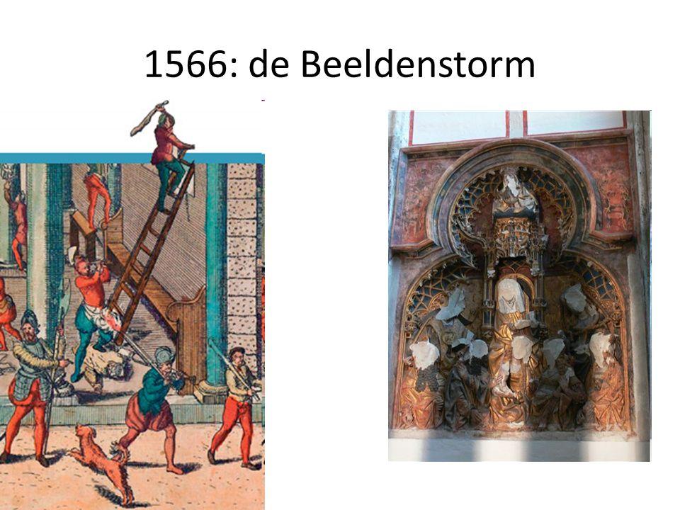 1566: de Beeldenstorm