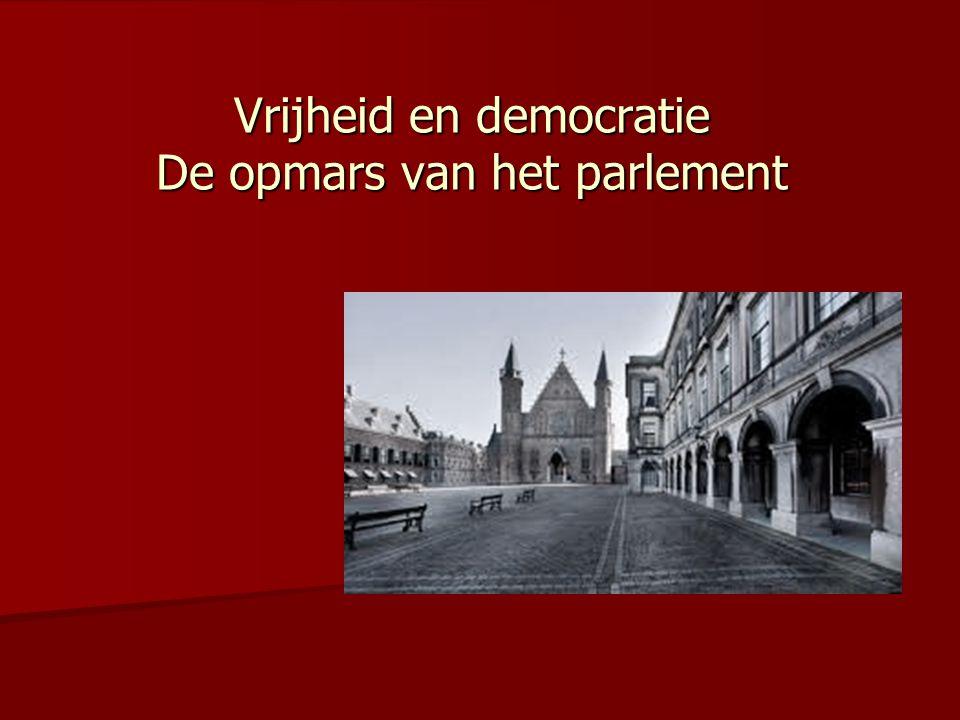 Vrijheid en democratie De opmars van het parlement