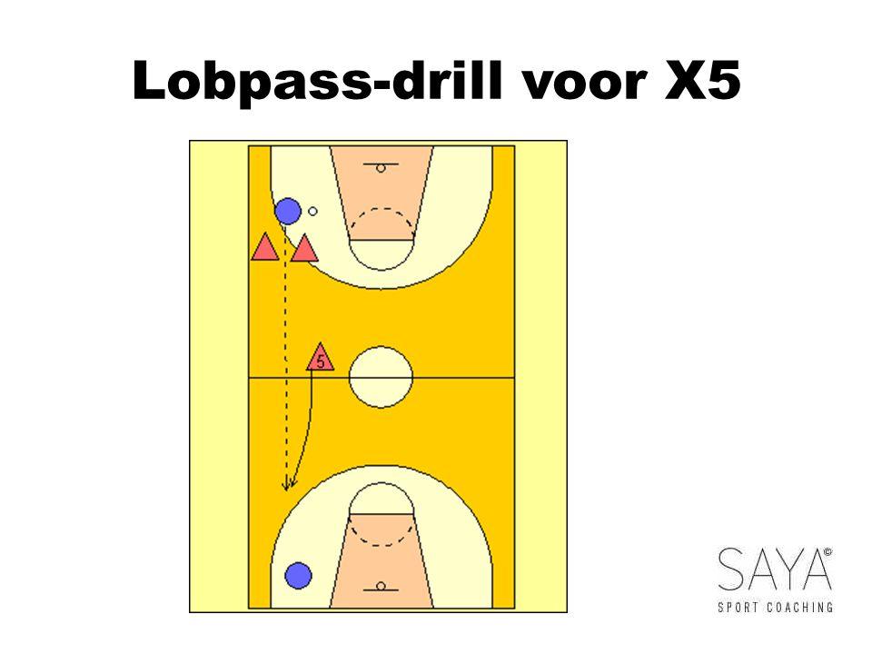 Lobpass-drill voor X5